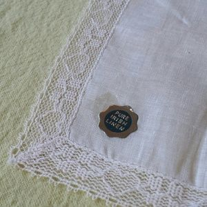 Pure 1960s Irish Linen Kerchief
